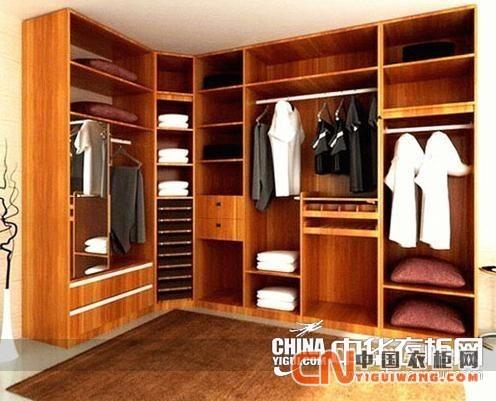 欧式衣柜内部合理设计图