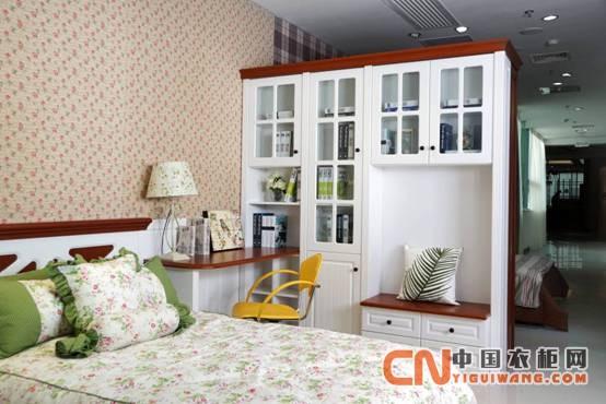 看卡诺亚衣柜如何打造欧式田园风卧房