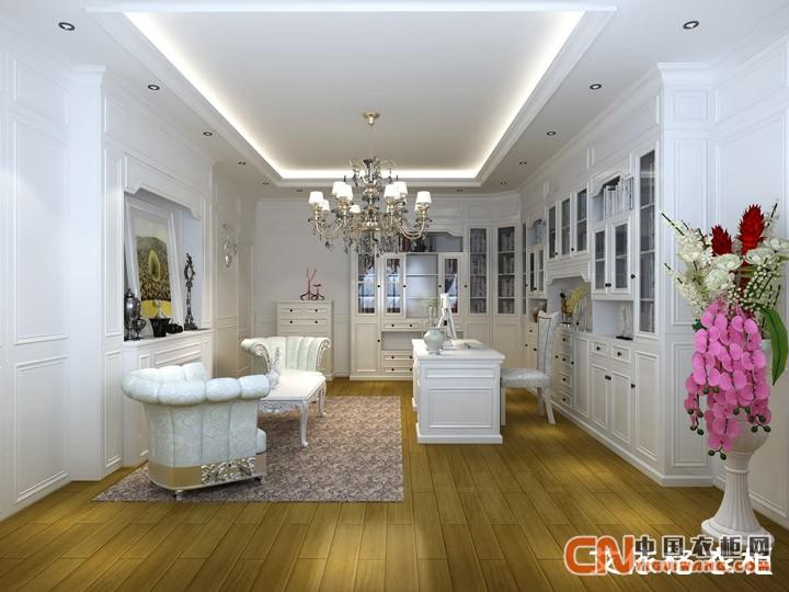 艾依格衣柜白色纯净优雅家具