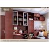 索菲亚定制家系列古典格调 隔断书房 入户柜办公桌收纳柜榻榻米