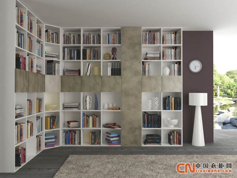 书柜榻榻米组合 变身多功能室扩容4m2
