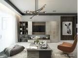 艾依格全屋定制北欧风格电视柜家具