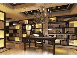整体书柜 欧式书柜 全铝书柜 整体定制 正康全铝家居