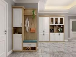 索菲亚全屋定制90㎡2房2厅简欧家装设计