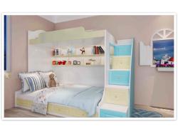 蓝乔全屋定制儿童房家具