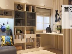 尚品宅配定制书房装修效果图,书房装修图