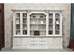 博克曼实木书柜