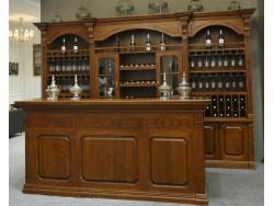 博克曼实木酒柜