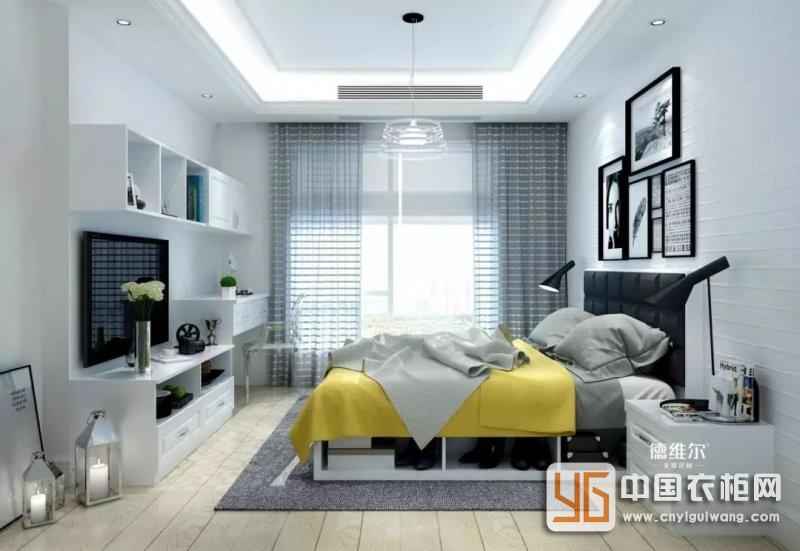 德维尔全屋定制案例 130m²三房两厅北欧风家装