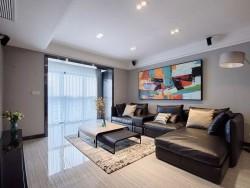 130㎡现代主义4室2厅 精致优雅演绎都市美学