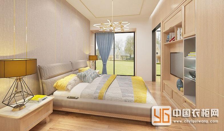 劳卡全屋定制轻奢欧式风尚卧室装修效果图