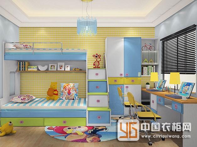 劳卡全屋定制儿童房装修效果图片