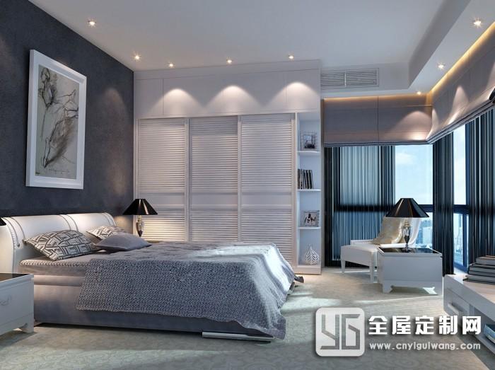 科菲笛全屋定制简欧系列卧室装修图片
