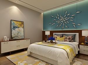 欧蒂尼全屋定制卧室现代轻奢风装修图片
