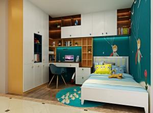 欧蒂尼全屋定制2款儿童房装修效果图