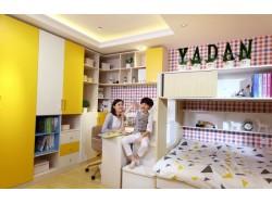 亚丹衣柜乐融系列儿童房空间