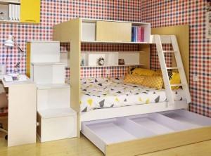 亚丹全屋定制乐融系列儿童房系列装修效果图