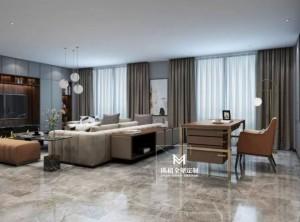 玛格全屋定制案例 四室两厅170m²现代简约设计