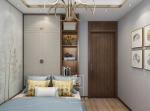 玛格全屋定制四室两厅新中式设计效果图