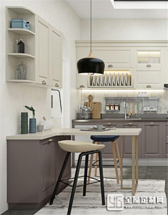 想要自然感的厨房?箭牌全屋定制等你来!