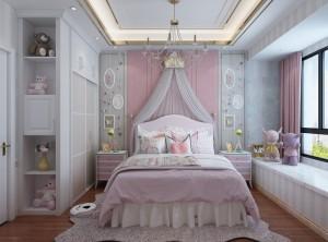 德维尔爱唯尔系列欧式风格儿童房装修效果图