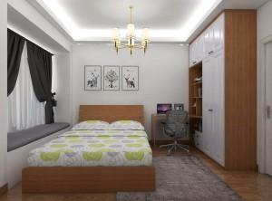 德维尔全屋定制缤纷四季系列卧室装修效果图