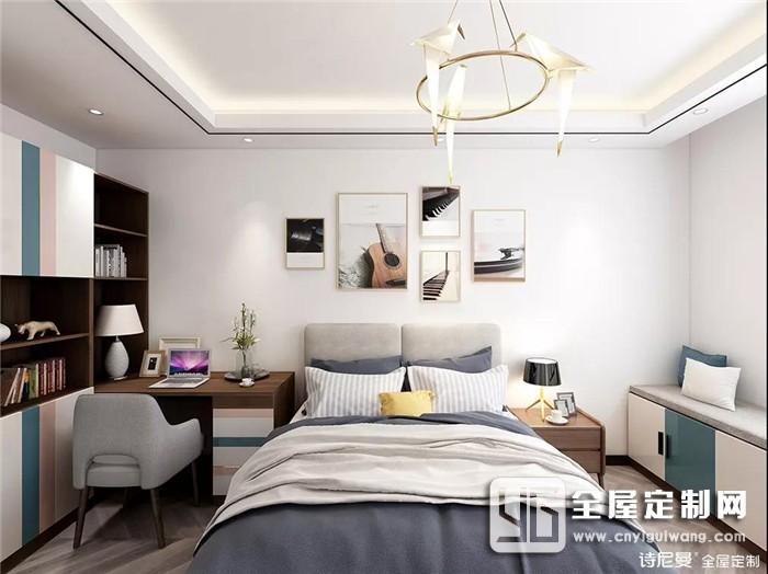 诗尼曼全屋定制设计师梁耀广说过:设计好不好,业主说了算!