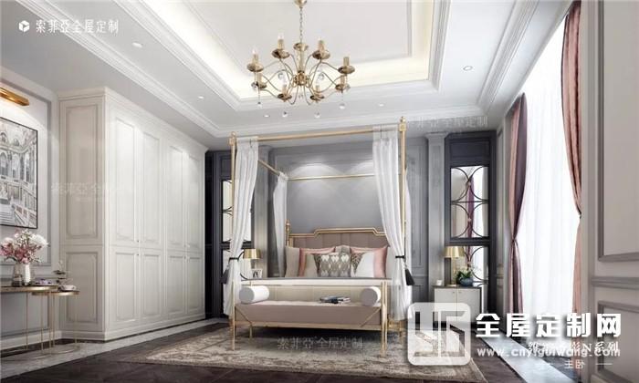 快把床头柜扔掉吧!索菲亚全屋定制的9种做法让房间更美腻