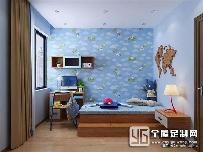 什么样的房间才适合自家的孩子?德维尔为孩子独家定制专属的儿童房