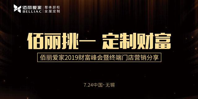 佰麗愛家2019財富峰會暨終端門店營銷分享