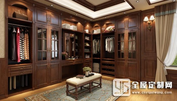 伊百丽全屋定制温莎公爵系列四室两厅装修效果图