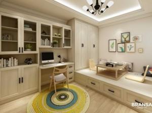布兰莎全屋定制三室一厅115㎡家装设计效果图