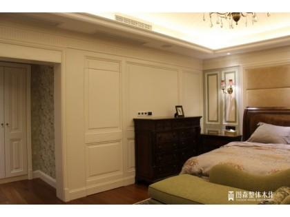 圖(tu)森(sen)全(quan)屋定制歐式(shi)實木護牆板系列
