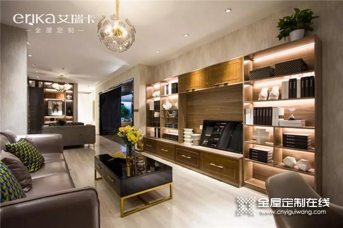 艾瑞卡全屋定制高级灰打造品质优雅生活,带来不一样的全新家居体验!