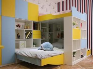 卡登莱衣柜卧室儿童房装修效果图