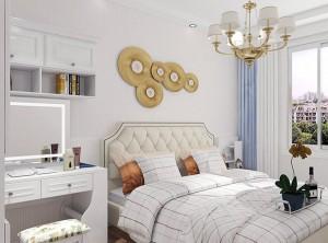 维意定制白色欧式系列卧室装修效果图