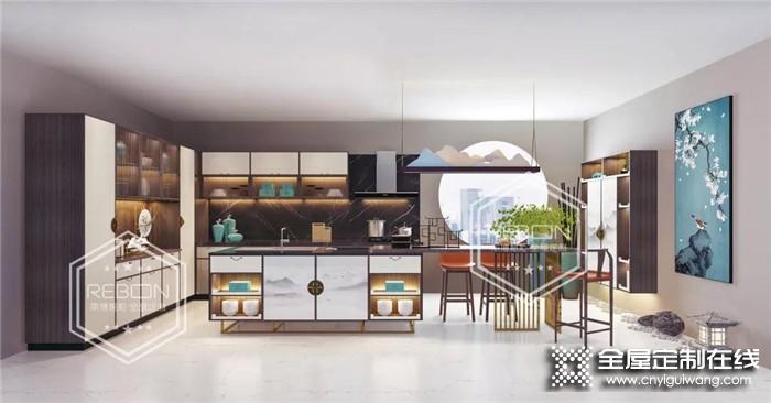 丽博全屋定制新中式檀韵,诠释现代居室优雅的艺术灵性