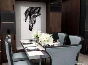 诗尼曼全屋定制15款餐厅设计效果图