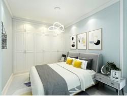 冠特布里斯系列卧室定制衣柜