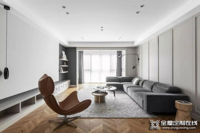 德瑞邦204㎡家装案例 用极简美学诠释家的温度