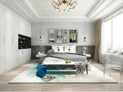 维柏诗全屋定制爱琴海现代卧室