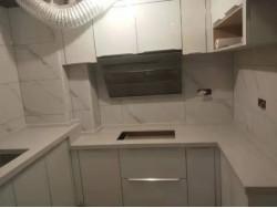 福州定制餐边柜橱柜吊柜吧台石英石台面客厅影视机柜阳台洗衣机柜