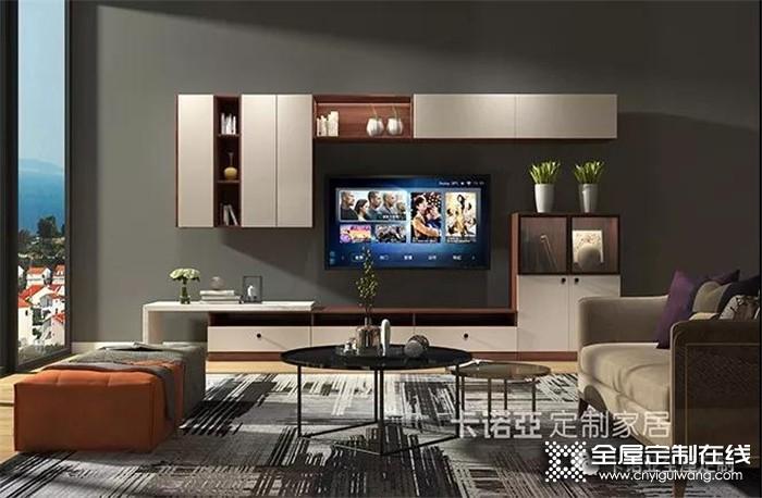 诺维家客厅现代简约风格,满足全家人的需求!
