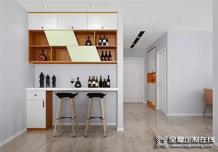 好的酒柜是要怎么样设计呢?来德维尔全屋定制看看吧!