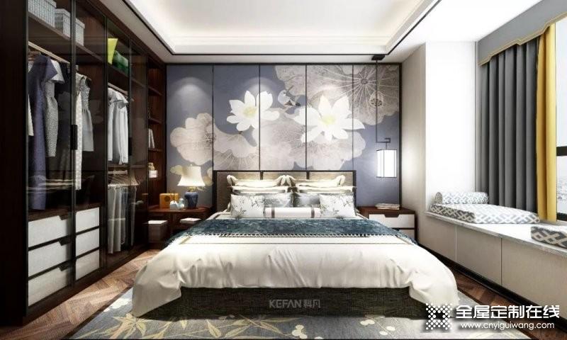 回归大隐隐于市的一室静谧 科凡定制新中式家装设计