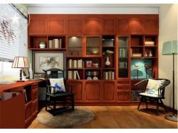 博萨尼全屋定制-清雅中式风格书房