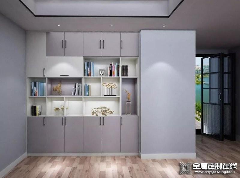 安信美家:定制书柜设计还需注意这些细节