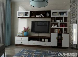 欧迪雅全屋定制客厅电视柜装修效果图