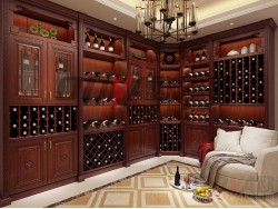 欧迪雅全屋定制中式酒柜