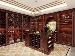 欧迪雅全屋定制法式酒柜